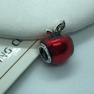 PANDORA Disney Snow White Apple Charm, New!
